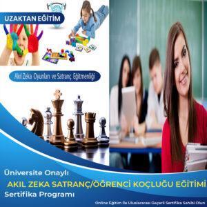 öğrenci koçluğu ve eğitim danışmanlığı sertifikası, akıl zeka ve satranç eğitmenliği