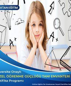 Özel Öğrenme Güçlüğü Tanı Envanteri (ÖGTE) Sertifikası