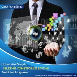 İşletme Yöneticiliği Eğitimi sertifikası