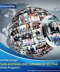 İnsan Kaynakları Uzmanlık Eğitimi sertifikası
