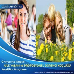 aile ve yaşam koçluğu sertifikası, profesyonel öğrenci koçluğu sertifikası