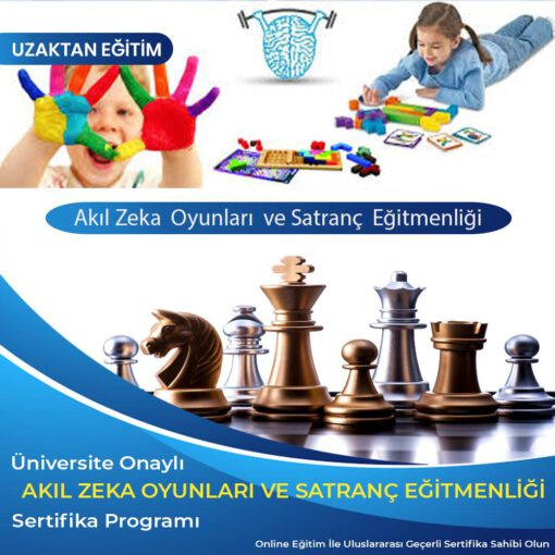 Akıl Zeka Oyunları Eğitimi ve Satranç Eğitmenlik Sertifikası