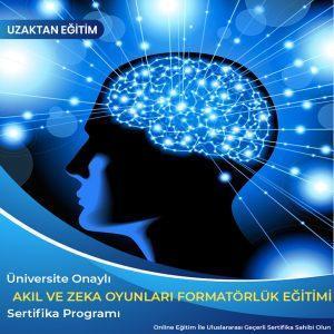 Akıl ve Zeka Oyunları Formatörlük Sertifikası