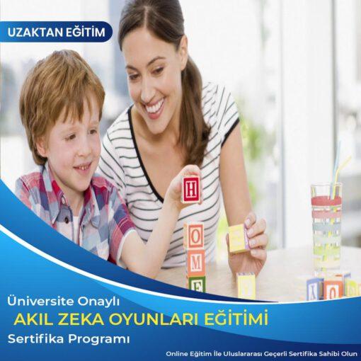 Akıl zeka oyunları sertifika programı, online akıl zeka oyunları eğitimi, uzaktan eğitim akıl zeka sertifikasıi