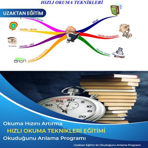 Hızlı Okuma Teknikleri Eğitimi, okuduğunu anlama programı