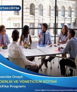 liderlik eğitimi sertifikası, yöneticilik eğitimi sertifikası