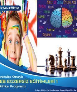 Meb Egzersiz Eğitimleri 1 akıl zeka ve satranç eğitmenliği ile yaratıcı drama eğitmenliği sertifikası