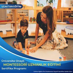 Montessori Eğitmenliği Uzmanlık Sertifikası