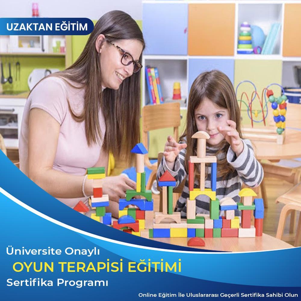 oyun terapisi uygulayıcı sertifikası