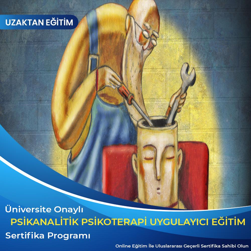 Psikanalitik Psikoterapi Uygulayıcı Eğitim Sertifikası