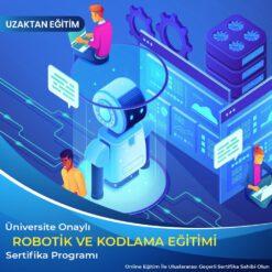 Robotik ve Kodlama Eğitimi Sertifikası, robotik sertifika, kodlama sertifika