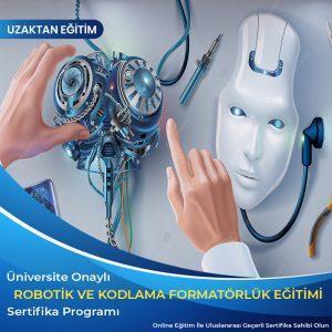 Robotik ve Kodlama Formatörlük Sertifikası, Robotik ve kodlama eğitici eğitimi sertifikası