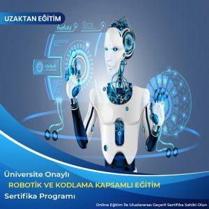 Robotik ve Kodlama Kapsamlı Eğitimi Sertifikası