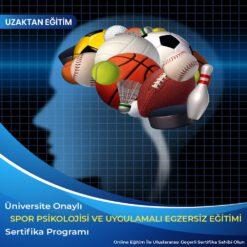 Spor Psikolojisi ve Uygulamalı Egzersiz Sertifikası