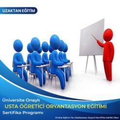 Usta Öğretici Oryantasyon Sertifikası