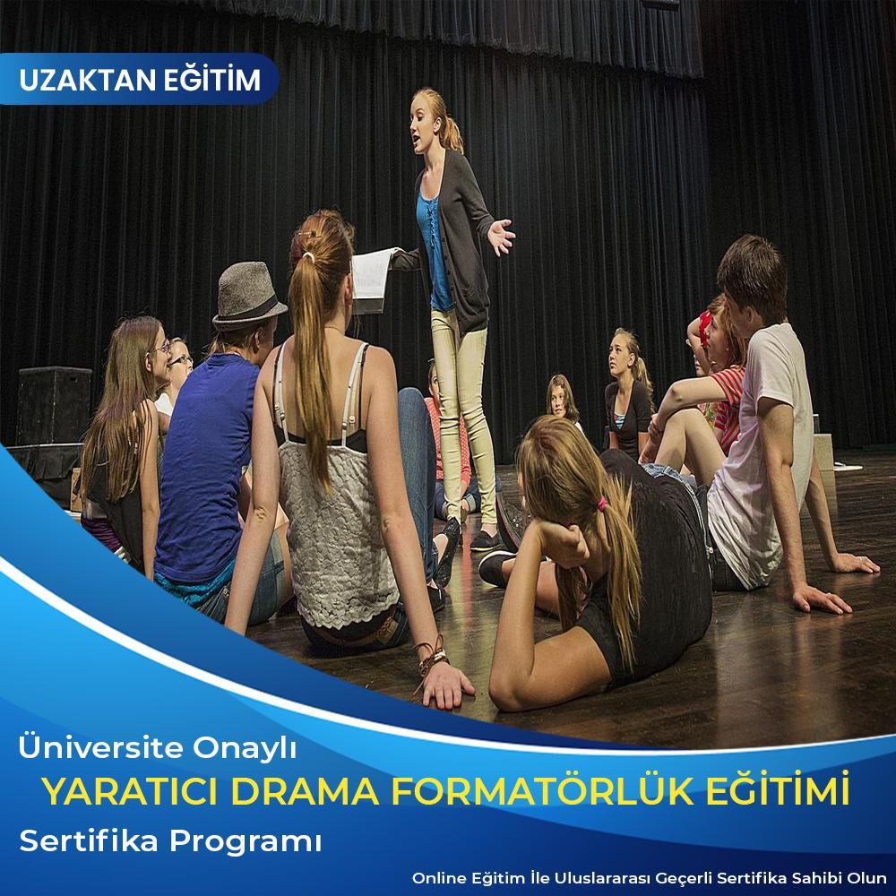 Yaratıcı Drama Formatörlük Sertifikası