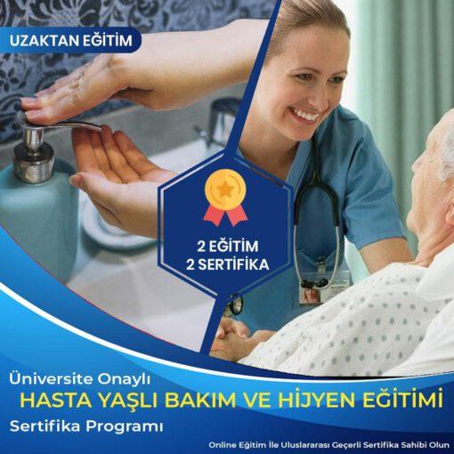 hasta yaşlı bakım ve hijyen eğitimi sertifikası