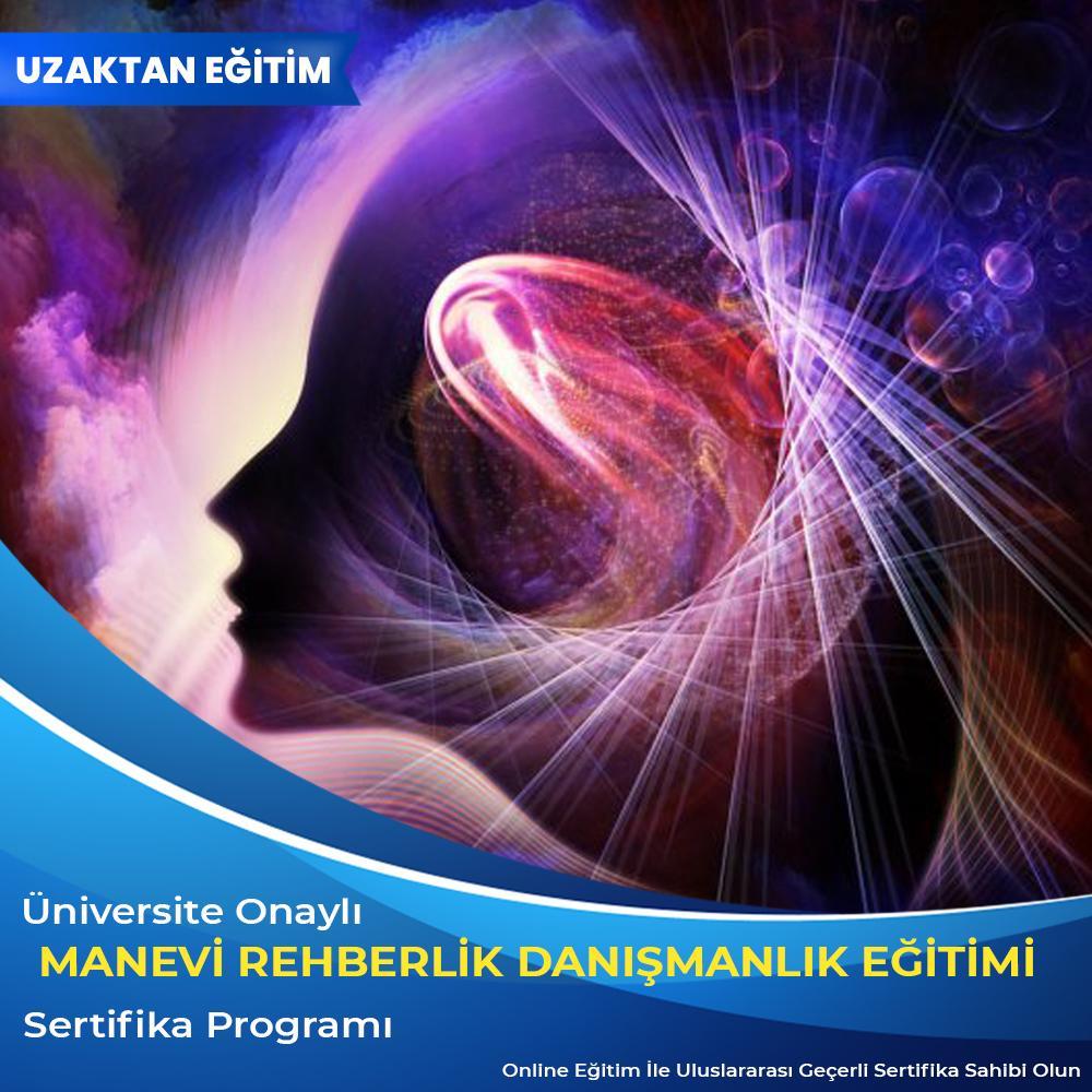 Manevi rehberlik danışmanlığı eğitimi sertifikası