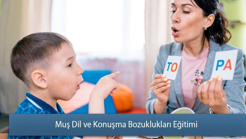 Muş Dil ve Konuşma Bozuklukları Eğitimi