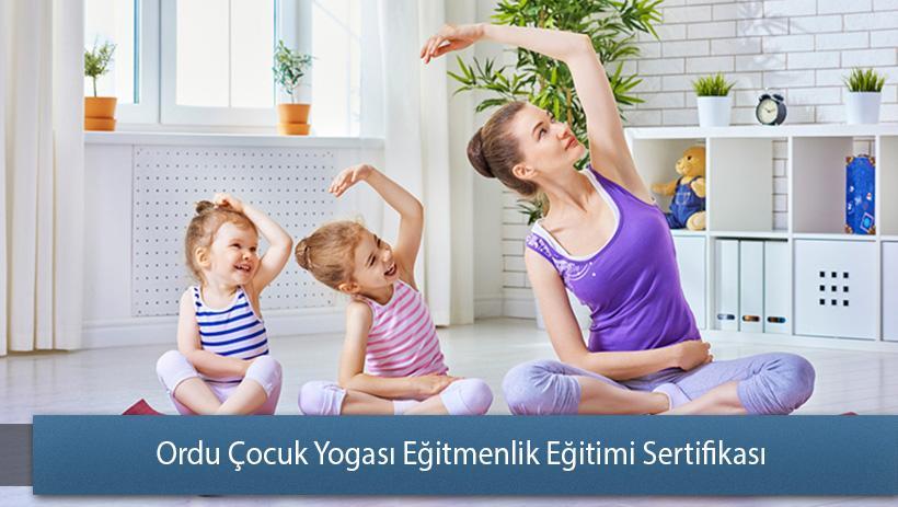 Ordu Çocuk Yogası Eğitmenlik Eğitimi Sertifikası