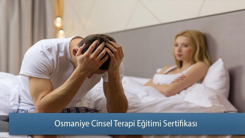 Osmaniye Cinsel Terapi Eğitimi Sertifikası
