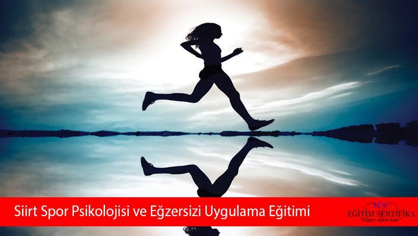 Siirt Spor Psikolojisi ve Eğzersizi Uygulama Eğitimi