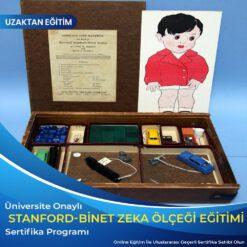 stanford binet zeka ölçeği testi sertifikası
